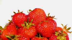 HD - Strawberry_rotation Stock Footage
