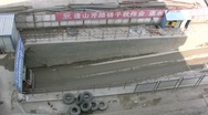 Stock Video Footage of Construction truck coming out of mine in China
