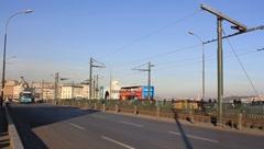 Istanbul, Galata Bridge Stock Footage
