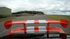 Dodge Viper onboard camera - part 2 Stock Footage