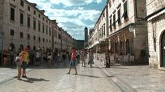 Croatia. Dubrovnik Stock Footage