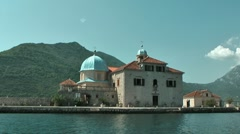 Montenegro. Perast Stock Footage