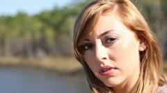 Teen Face Sad Arkistovideo