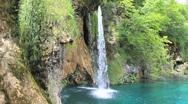 Waterfalls at Croatia 14a Stock Footage