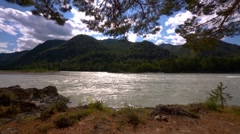 The mountain river 14 Stock Footage