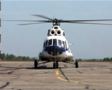 Helicopter pulls Stock Footage