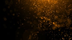 Particle seamless background Stock Footage