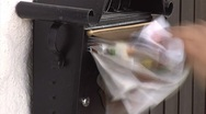 Mail spamming time lapse Stock Footage