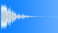 Wood hit metal heavy 4 Sound Effect