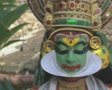 Goa / Cochin Kathakali Dancer performing Footage