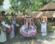 Goa / Cochin Kathakali Dancer performing SD Footage