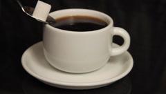 Sweet coffee Stock Footage