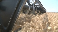 Stock Video Footage of Harvester in motion 2