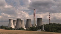 Power Plant 2s Stock Footage