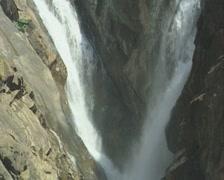 Goa / Cochin Dudhsagar waterfall Stock Footage