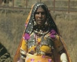 Goa / Cochin Indian woman in traditional dress SD Footage