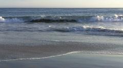 The beaches of Southern California - Laguna Beach Stock Footage