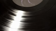 Turntables - Vintage emotion with vinyl - stock footage