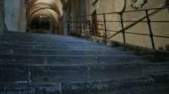 Canterbury Cathedral Time Lapse Steps Stock Footage