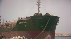 Oil tanker Stock Footage