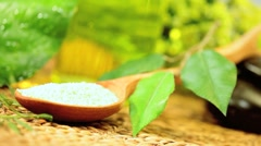 Alternative Therapy Products to Promote Relaxation - stock footage