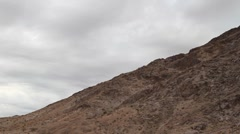 Desert Bluff Pan Stock Footage