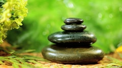 Alternative Spa Products to Promote Serenity - stock footage