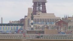 Blackpool Tower Stock Footage