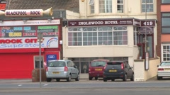 Blackpool Guest House Stock Footage