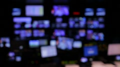Newsroom - stock footage