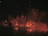 Armata Festival of Spetses Stock Footage