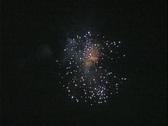Armata Festival of Spetses Fireworks Stock Footage