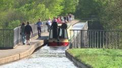 Llangollen Canal Stock Footage