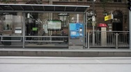 Melbourne Tram Stop Stock Footage