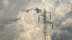 Stock Video Footage of pylon 03