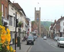 Henley-on-Thames Hart Street Stock Footage