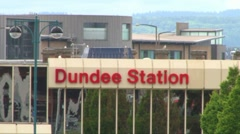 Dundee Station Stock Footage