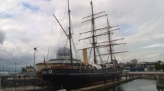 RRS Discovery Stock Footage