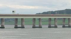 Tay Road Bridge Stock Footage