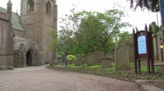 Brechin Cathedral Stock Footage