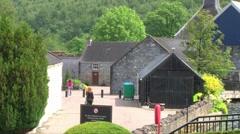 Malt Whisky Distillery Stock Footage
