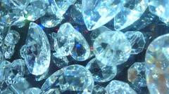 Large Diamonds Stock Footage
