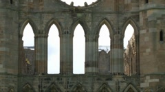 Elgin Cathedral Stock Footage