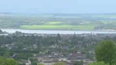 Inverness Skyline Stock Footage