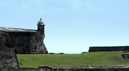 Stock Video Footage of Fort San Juan