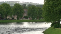 River Ness Stock Footage