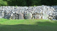 Balnuaran of Clava Stones Stock Footage