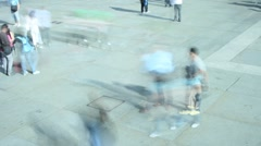 crowd 1 - stock footage