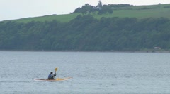 Moray Firth Kayaks Stock Footage