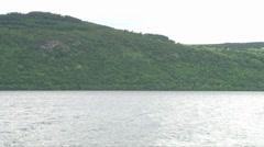 Loch Ness Scenery Stock Footage